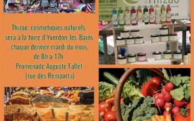 La foire d'Yverdon-les-Bains reprend ses droits