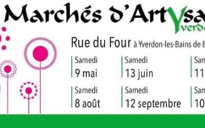 Marché d'Artysans Yverdon-les-Bains